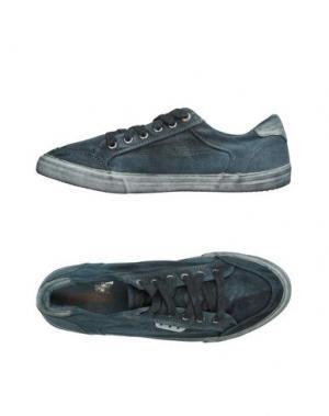 Низкие кеды и кроссовки PANTOFOLA D'ORO. Цвет: грифельно-синий