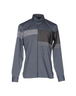 Pубашка HōSIO. Цвет: свинцово-серый