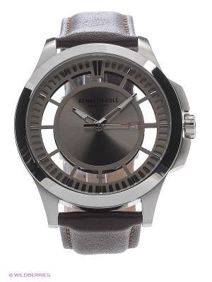 Часы наручные Kenneth Cole. Цвет: коричневый