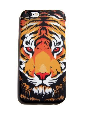 Чехол для iPhone 6/6s Lola. Цвет: оранжевый, белый, черный