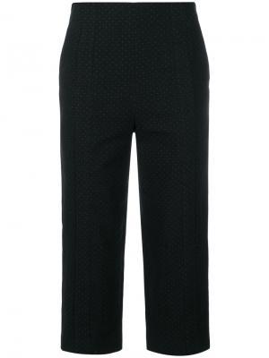 Дутые укороченные брюки Chalayan. Цвет: чёрный