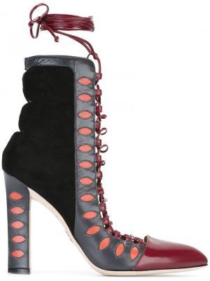 Ботинки по щиколотку Warrior Paula Cademartori. Цвет: многоцветный