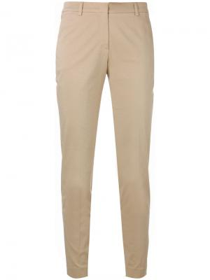 Margot cropped trousers Ql2. Цвет: телесный