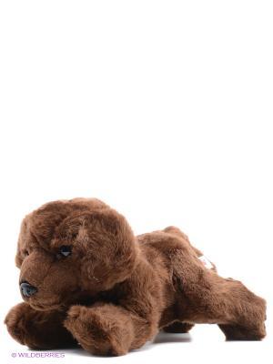 Игрушка мягкая Шоколадный лабрадор 28 см Aurora. Цвет: коричневый