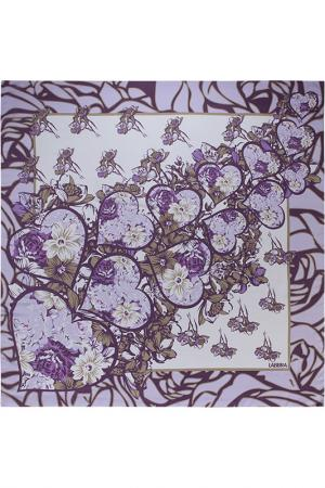 Платок Labbra. Цвет: фиолетовый