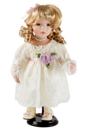 Кукла 31см Русские подарки. Цвет: белый, сиреневый