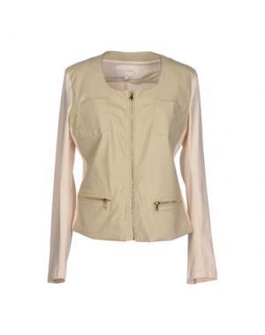 Куртка HANNY DEEP. Цвет: бежевый