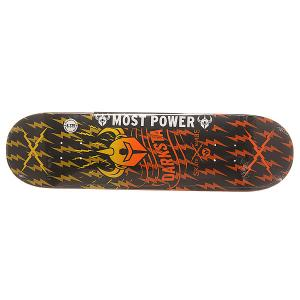 Дека для скейтборда  S6 Rhm Axis Orange Fade 31.8 x 8.375 (21.3 см) Darkstar. Цвет: мультиколор