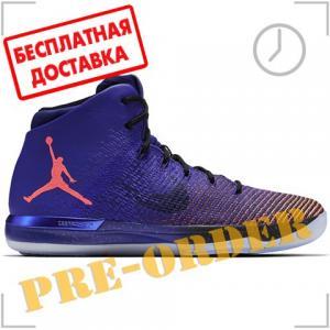 Кроссовки Jordan. Цвет: фиолетовый