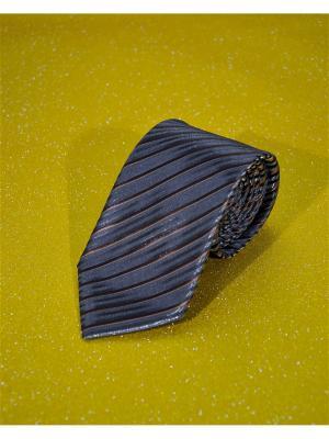 Галстук MACAR. Цвет: коричневый
