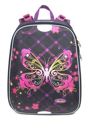 Рюкзак STERNBAUER. Цвет: черный, розовый
