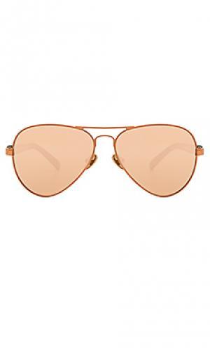 Солнцезащитные очки concorde 05 WESTWARD LEANING. Цвет: металлический медный
