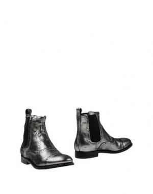 Полусапоги и высокие ботинки ATELIER MERCADAL. Цвет: серебристый