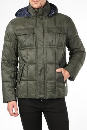 Куртка BCM. Цвет: зеленый