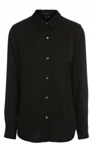Блуза Theory. Цвет: черный