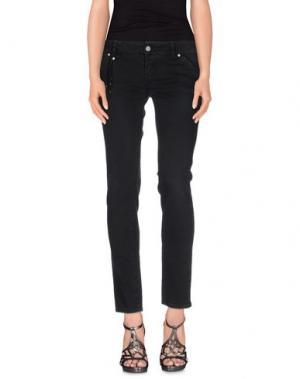 Джинсовые брюки JFOUR. Цвет: черный