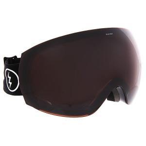 Маска для сноуборда  Eg3 Gloss Black Brose Electric. Цвет: черный