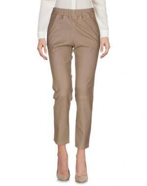 Повседневные брюки ENES. Цвет: хаки