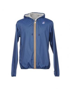 Куртка K-WAY. Цвет: грифельно-синий