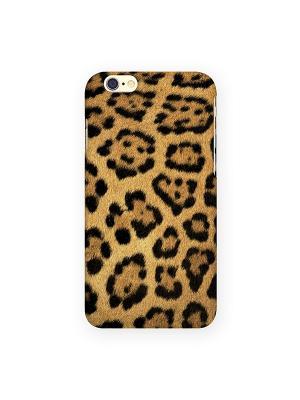 Чехол для IPhone 6 Леопардовый принт Mitya Veselkov. Цвет: желтый, синий, красный