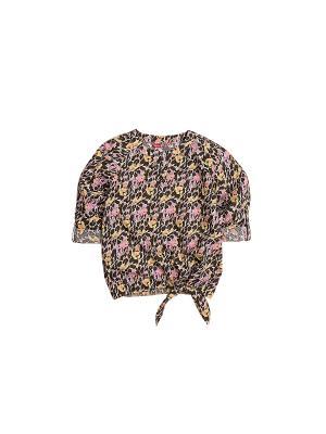 Блузка PELICAN. Цвет: коричневый