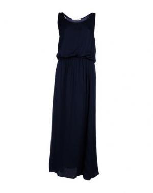 Длинное платье GIORGIA & JOHNS. Цвет: темно-синий