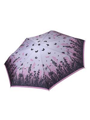 Зонт Fabretti. Цвет: сиреневый