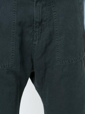 Широкие укороченные брюки Nili Lotan. Цвет: чёрный