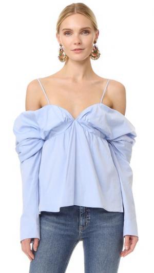 Блуза Blair Petersyn. Цвет: голубой