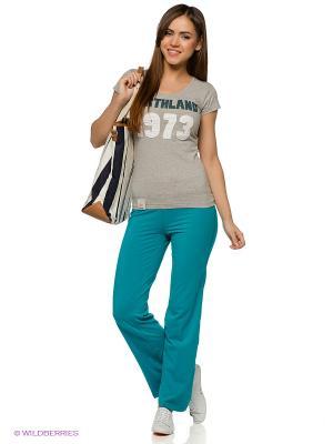 Брюки W Amelie Jogginghose turquoise Northland Professional. Цвет: бирюзовый