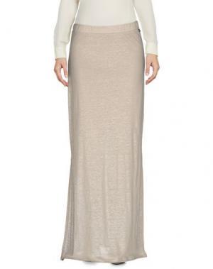 Длинная юбка JUST FOR YOU. Цвет: светло-серый