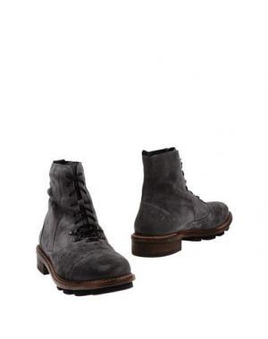Полусапоги и высокие ботинки O.X.S.. Цвет: серый