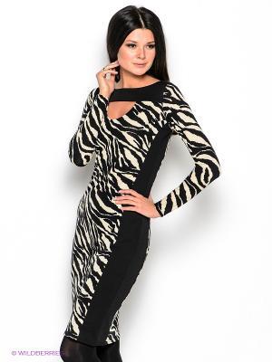Платье Hammond. Цвет: черный, светло-бежевый