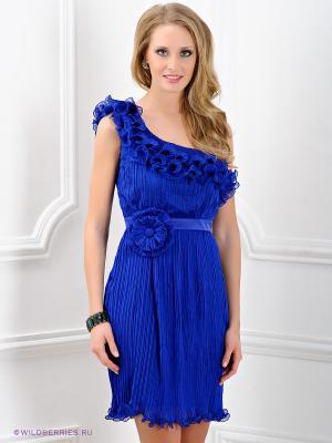 Платье Ally's. Цвет: синий