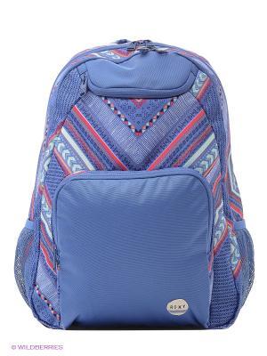 Рюкзак ROXY. Цвет: серо-голубой, темно-фиолетовый, серый