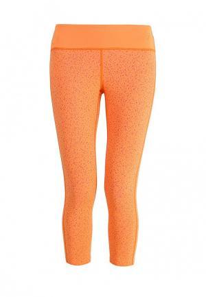 Капри ASICS. Цвет: оранжевый