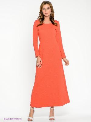Платье Xarizmas. Цвет: коралловый