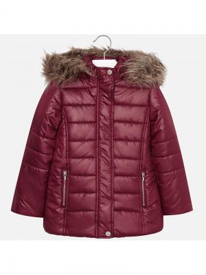 Куртка Mayoral. Цвет: темно-красный