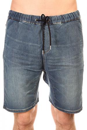 Шорты джинсовые  Foniden Fleeshor Worn Wash Quiksilver. Цвет: синий
