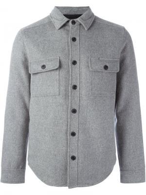 Куртка-рубашка Saturdays Surf Nyc. Цвет: серый