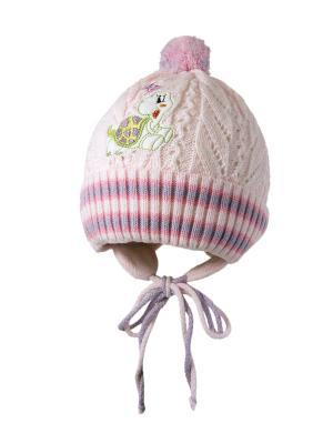 Шапка Kolad. Цвет: бледно-розовый, зеленый, сиреневый
