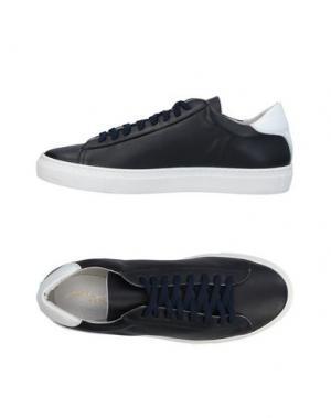 Низкие кеды и кроссовки ALBERTO MORETTI. Цвет: черный
