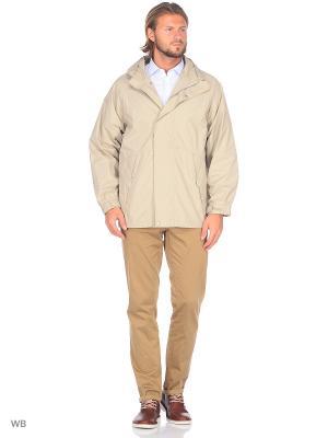 Куртка ABSOLUTEX. Цвет: бежевый