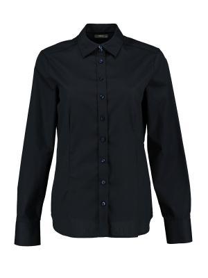 Рубашка Eterna. Цвет: темно-синий