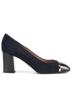 Туфли Donna Serena. Цвет: темно-синий