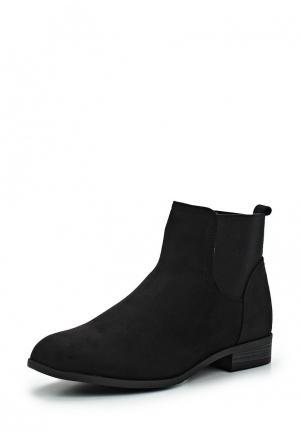Ботинки Ideal Shoes. Цвет: черный