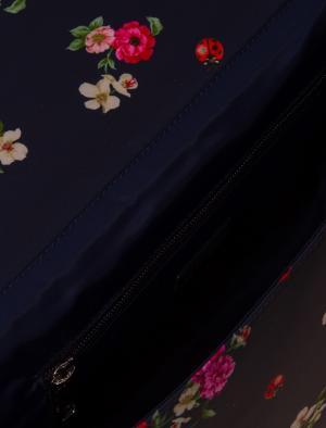 Портфель с принтом Dolce&Gabbana Children. Цвет: синий