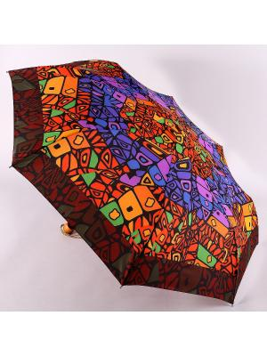 Зонт Airton. Цвет: оранжевый, фиолетовый