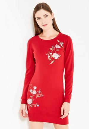 Платье By Swan. Цвет: красный