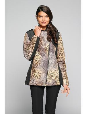 Куртка Sirenia. Цвет: светло-коричневый
